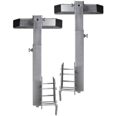 Boat Trailer Solid Bar Bow Support Set of 2 63 - 88 cm[5/5]