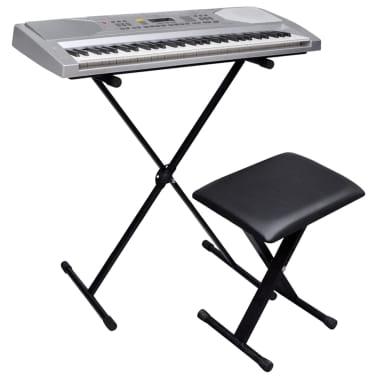 Elek. klaviatura s 61 tipkami, stojalom za klaviature in stolčkom[1/5]