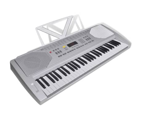 Elek. klaviatura s 61 tipkami, stojalom za klaviature in stolčkom[3/5]