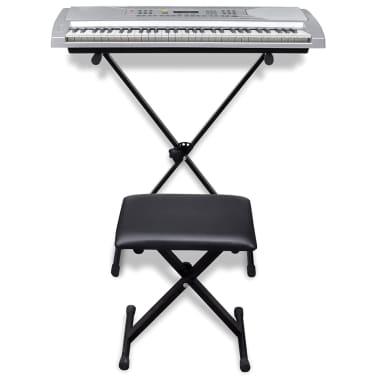 Elek. klaviatura s 61 tipkami, stojalom za klaviature in stolčkom[2/5]