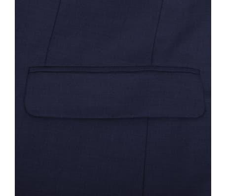 Three Piece Men's Business Suit Size 50 Navy Blue[7/10]