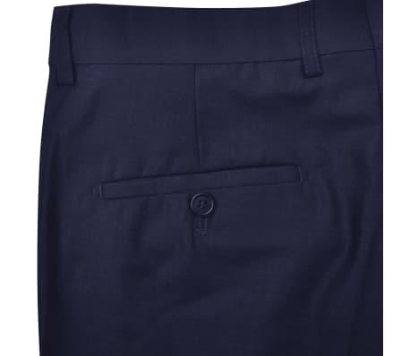 Three Piece Men's Business Suit Size 50 Navy Blue[8/10]