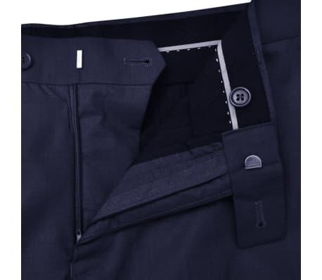 vidaXL Driedelig pak voor mannen maat 50 marineblauw[9/10]