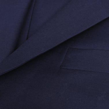 vidaXL Driedelig pak voor mannen maat 50 marineblauw[6/10]
