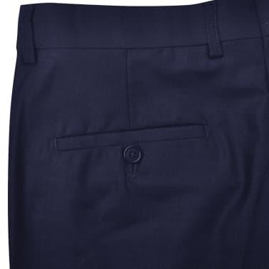 vidaXL Driedelig pak voor mannen maat 50 marineblauw[8/10]