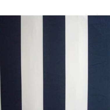vidaXL Folding Awning 300 cm Navy Blue & White[5/5]