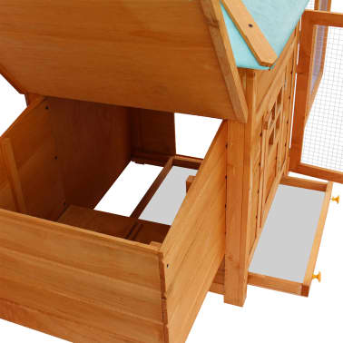 vidaXL Outdoor Chicken Coop[4/5]