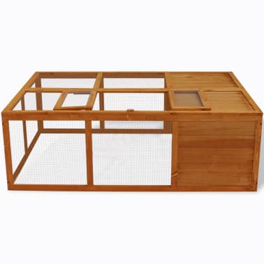 Outdoor Foldable Wooden Animal Cage[2/5]