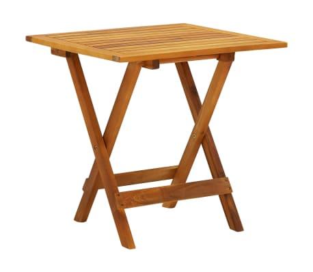 Vidaxl Table Basse D Exterieur Bois D Acacia Meuble De Jardin Multicolore Ebay