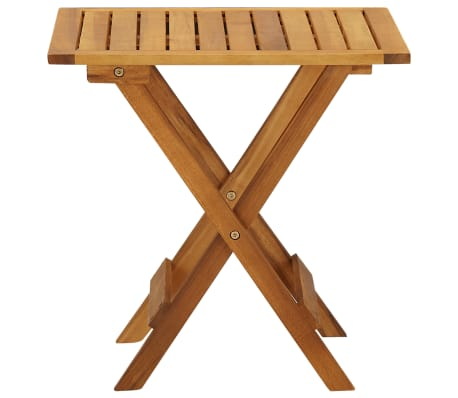 vidaXL Outdoor Coffee Table Acacia Wood[3/6]