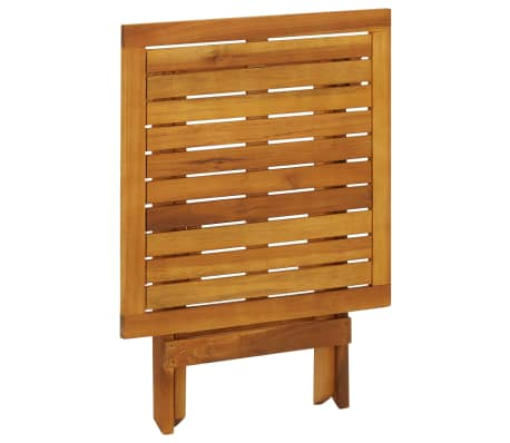 vidaXL Outdoor Coffee Table Acacia Wood[4/6]
