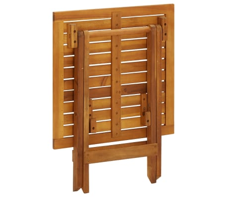 vidaXL Outdoor Coffee Table Acacia Wood[5/6]