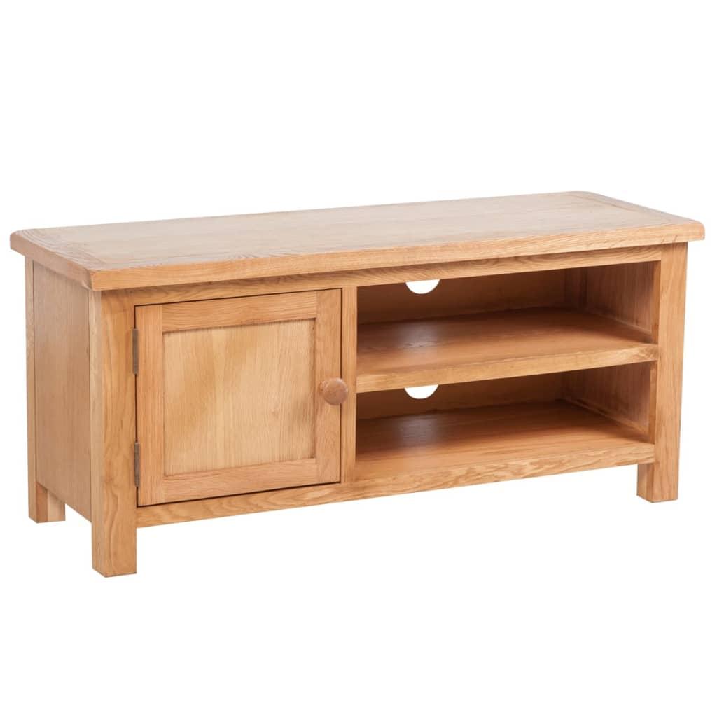 vidaXL TV stolek 103 x 36 x 46 cm masivní dubové dřevo