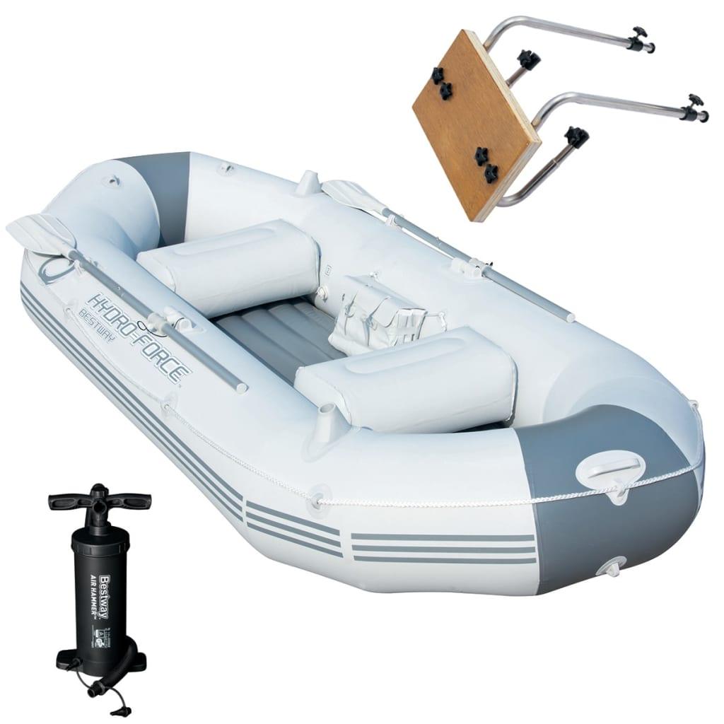 Bestway Barcă gonflabilă Marine Pro cu suport pentru motor poza vidaxl.ro