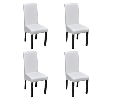 cda73c9043fd vidaXL Jedálenské stoličky z umelej kože