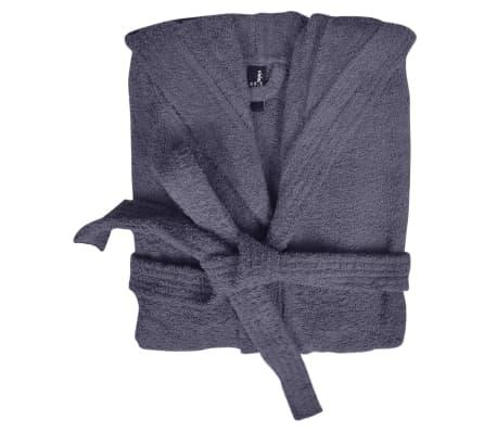 Frotē peldmētelis, halāts, 500 g/m², 100% kokvilna, XL, antracītpelēks[2/3]