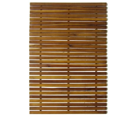 vidaXL Badmat 80x50 cm acaciahout 2 st[2/4]