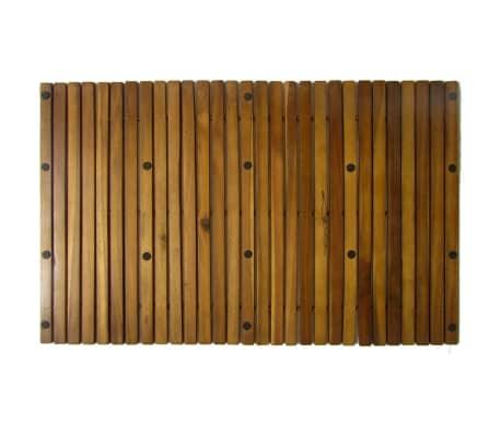 vidaXL Badmat 80x50 cm acaciahout 2 st[4/4]