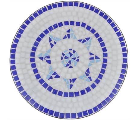 vidaXL Caféset 3 delar keramik blå och vit[4/12]