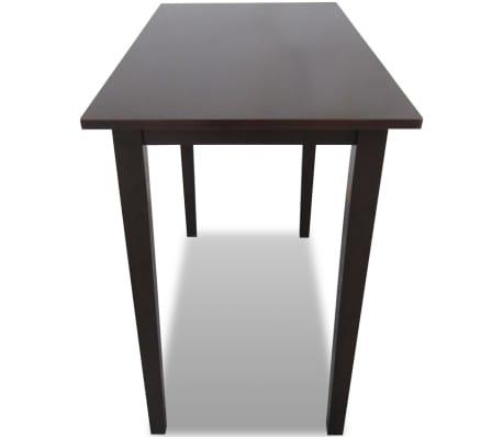 vidaXL bāra galds, koks, brūns[3/4]