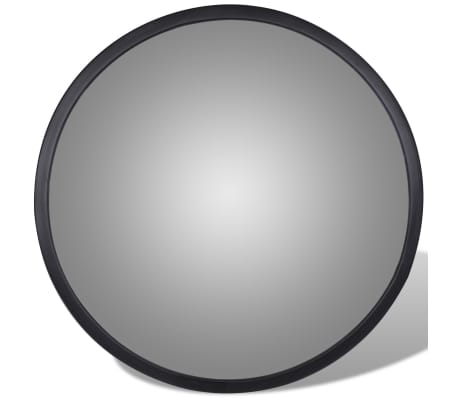 "Convex Traffic Mirror Acrylic Black 12"" Indoor[2/4]"