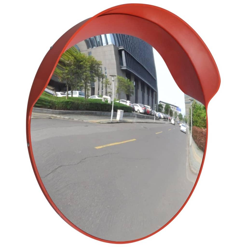 Convex provozní zrcadlo 60 cm oranžový plast