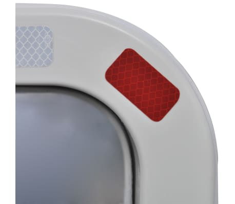 Convex Traffic Mirror Rectangle 60 x 80 cm with Reflectors[4/6]