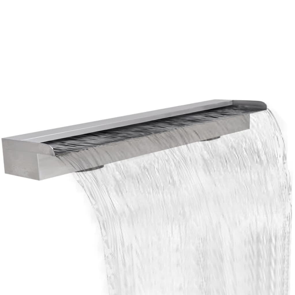 Obdélníková bazénová fontána nerezová ocel 150 cm