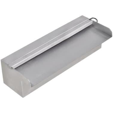Fuente rectangular con leds para piscina acero inoxidable for Piscina acero inoxidable precio