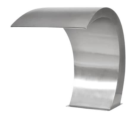 "Garden Waterfall Pool Fountain Stainless Steel 17.7"" x 11.8"" x 23.6""[3/7]"