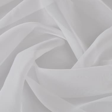 Voile Fabric 1.45 x 20 m White[1/2]