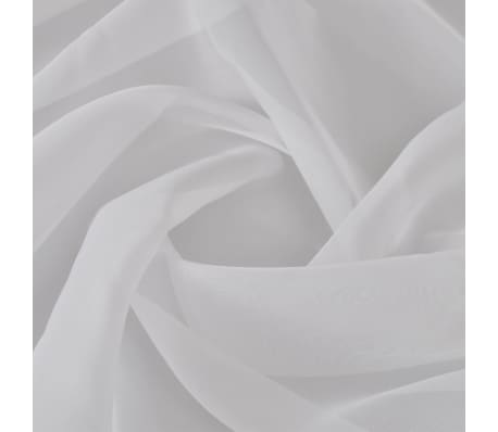 Voile Fabric 1.45 x 20 m White[2/2]