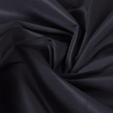 Tissu satin microfibre noir 1,45 x 20 m[2/2]