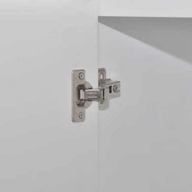 vidaXL Wooden Wedding Cabinet Chinese Style with 3 Shelves and 2 Doors[6/7]