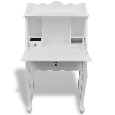 Wooden French Secretary Desk[4/9]