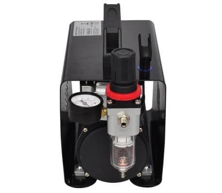 "Airbrush Compressor Set with 3 Pistols 10"" x 5.3"" x 8.7""[3/6]"