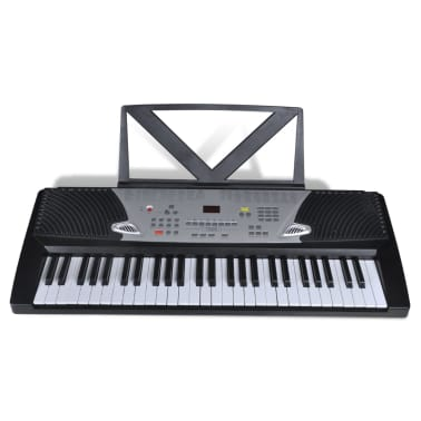 54 Piano-Key Electric Keyboard with Music Stand[4/4]