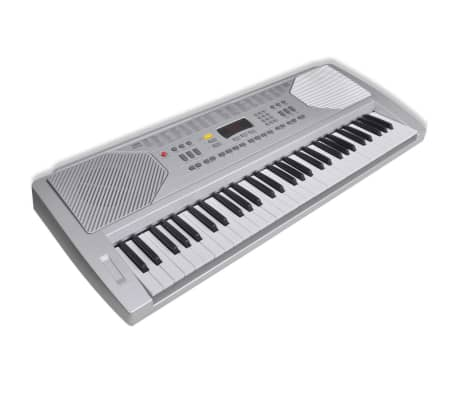 61 Piano-Key Electric Keyboard with Music Stand[4/5]
