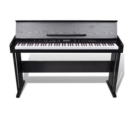Classic Electronic Digital Piano with 88 Keys & Music Stand[2/8]