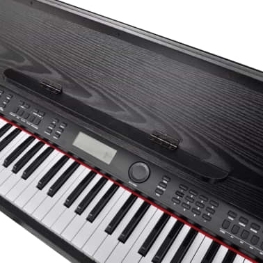 Classic Electronic Digital Piano with 88 Keys & Music Stand[5/8]