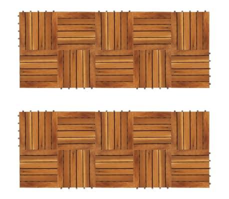 Balkongplattor med vertikal design 30 x 30, 20 st[1/5]