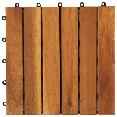 Balkongplattor med vertikal design 30 x 30, 20 st[4/5]