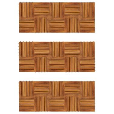 Balkongplattor med vertikal design 30 x 30, 30 st[1/5]