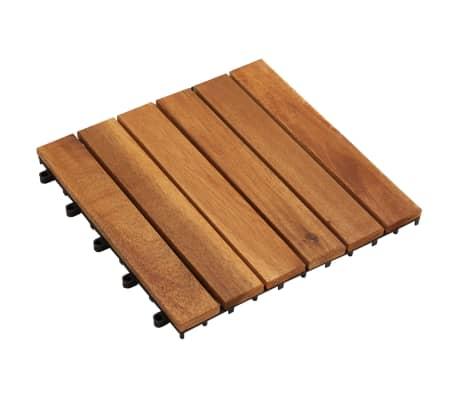 Balkongplattor med vertikal design 30 x 30, 30 st[2/5]