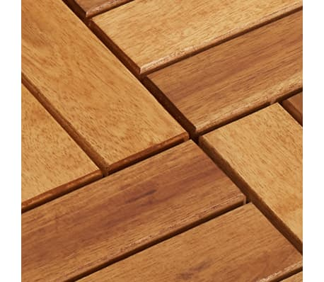 Decking Tiles 30 x 30 cm Acacia Set of 30[5/5]