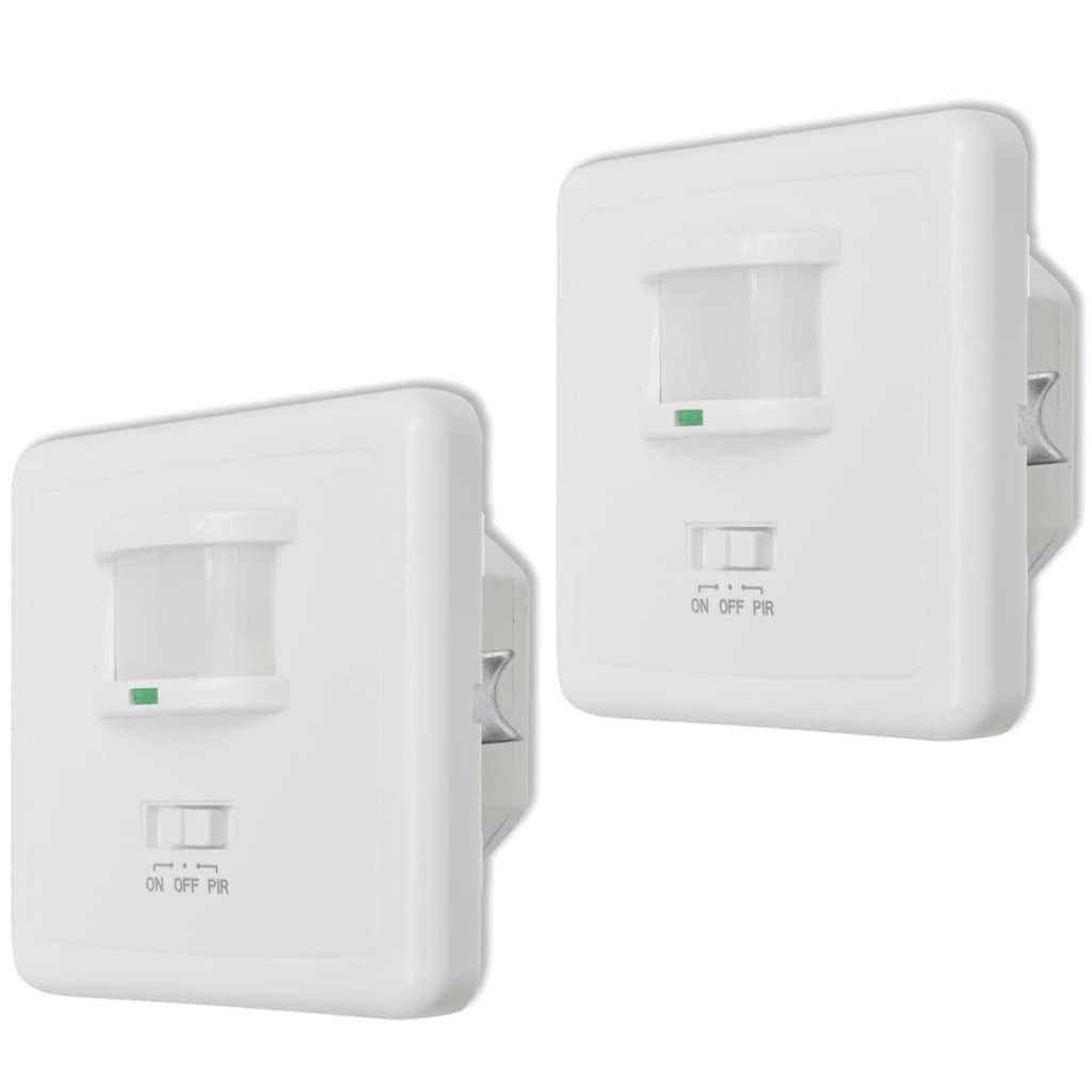 2 pcs Infračervený detektor pohybu pro LED svítidla