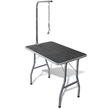 Adjustable Pet Dog Grooming Table with 1 Noose[1/6]