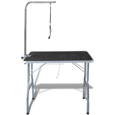Adjustable Pet Dog Grooming Table with 1 Noose[2/6]