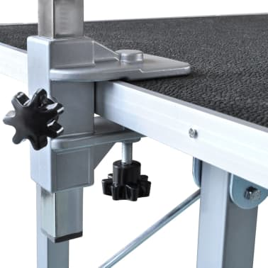 Adjustable Pet Dog Grooming Table with 1 Noose[3/6]