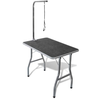 Portable Pet Dog Grooming Table with Castors[1/8]